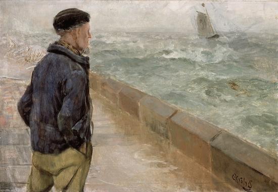 En fransk sjømann de Christian Krohg 