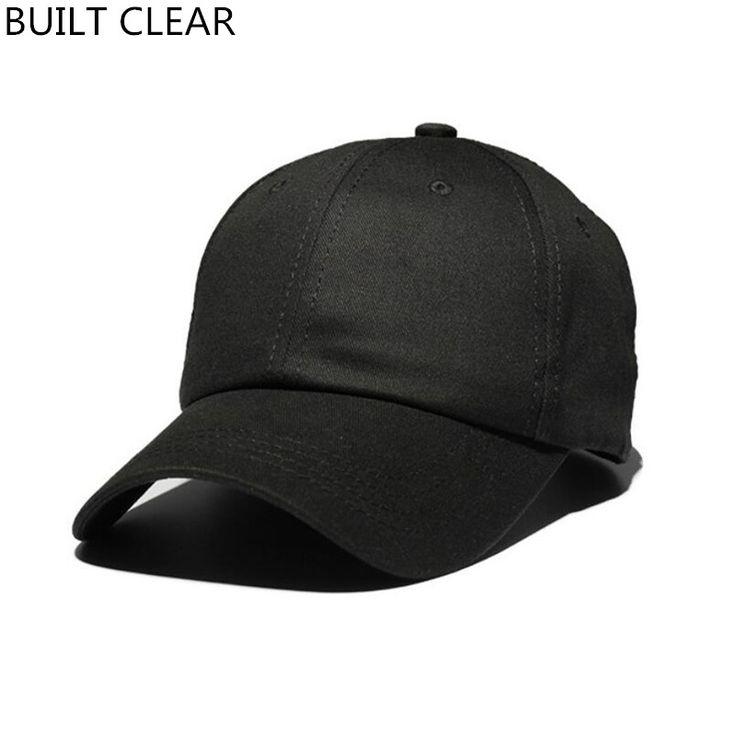 (BUILT CLEAR) snapback 6 panel cotton men's sports hat fashion baseball cap women sunscreen baseball hats wholesale hats for men #Affiliate