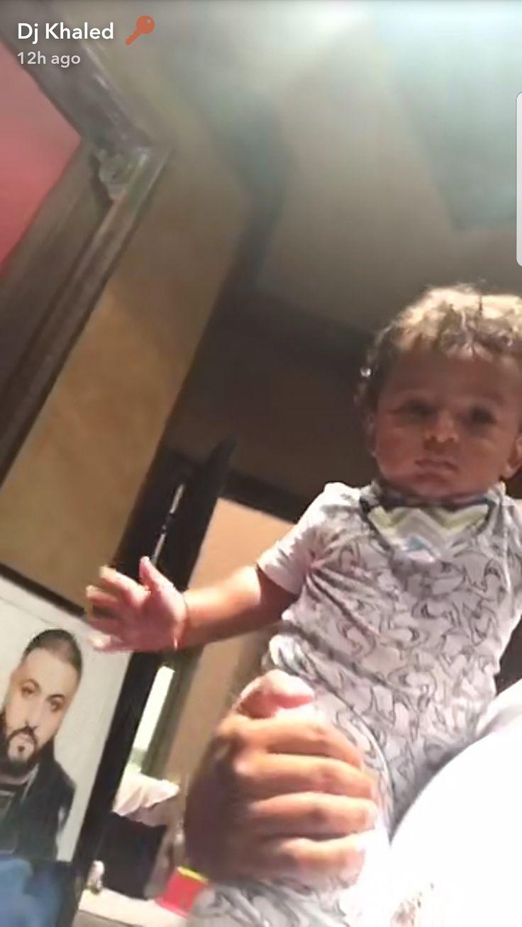 DJ Khalid's 9 month old son Asahd JULY 2017