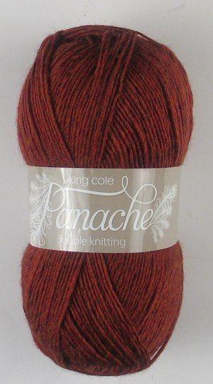 KING COLE PANACHE DK 100G 062 RUSSETT
