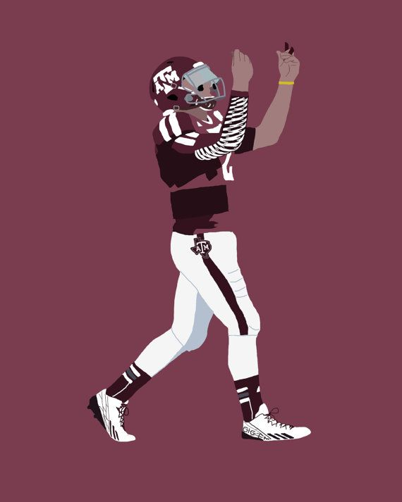"Johnny Manziel ""Money"" Print/Poster"