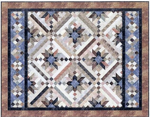 52 best Quilt images on Pinterest | Easy quilts, Quilt patterns ... : smokey river quilt kit - Adamdwight.com