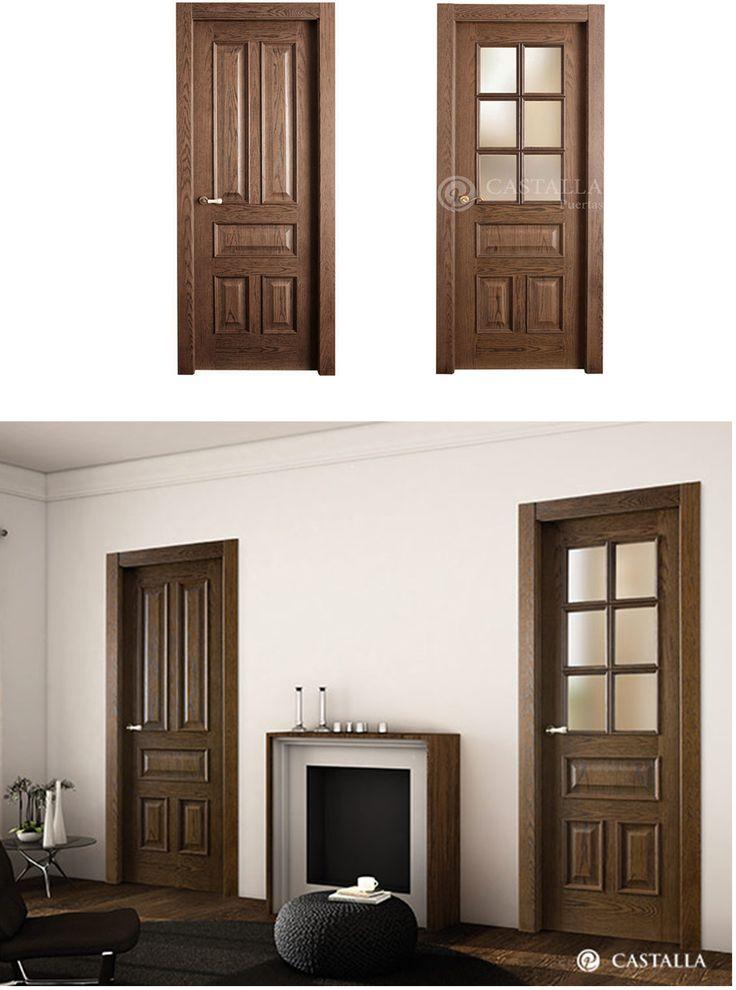 Mejores 43 im genes de madera oscura puertas de interior for Ver modelos de puertas de madera
