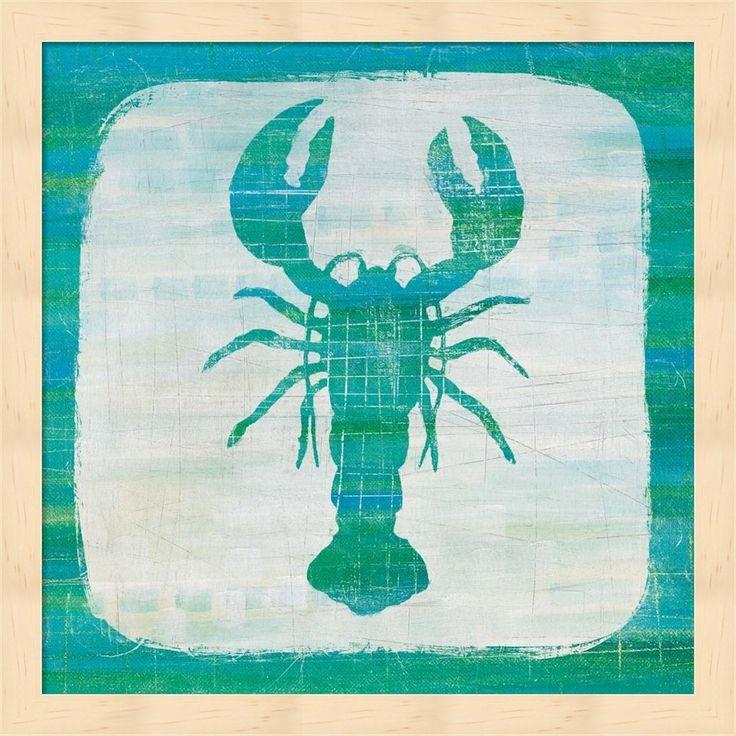 Melissa Averinos 'Ahoy II Blue Green' Framed Art