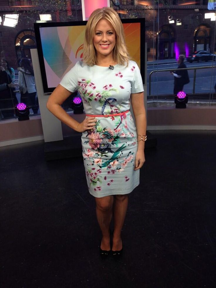 Sam Armytage, presenter of Australian Sunrise, looks amazing in one of our beautiful dresses http://oasis.andotherbrands.com/dresses?lng=en-AUctry=AU