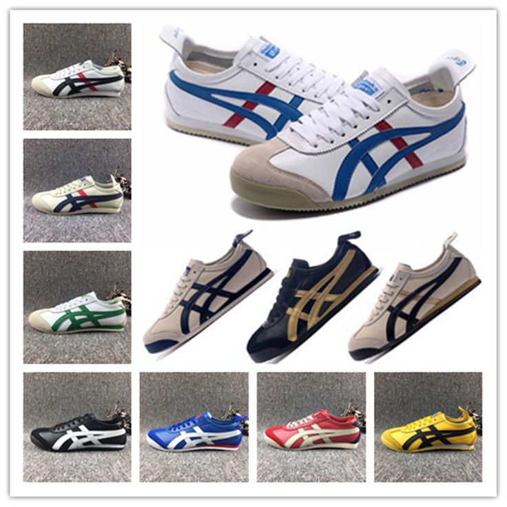 NEW ASICS ONITSUKA TIGER MEXICO 66 SHOES LEATHER CASUAL TRAINERS VARIOUS COLOURS #OnitsukaTiger #Walking