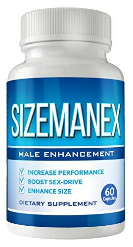 Sizemanex - Male Enhancement Pills - Erection Pills - Testosterone Booster - Enlargement Pills for Men - Male Performance - Increase Size, Stamina, Sex-Drive ** New and awesome product awaits you, Read it now  : Healthy Herbal Supplements