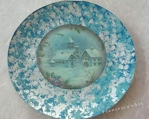 Γυάλινο πιάτο https://www.facebook.com/pages/Francescas-Art/347467208699516