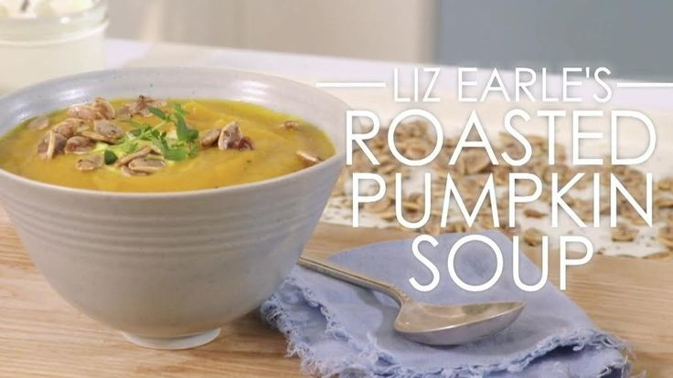 Liz Earle's roasted pumpkin soup