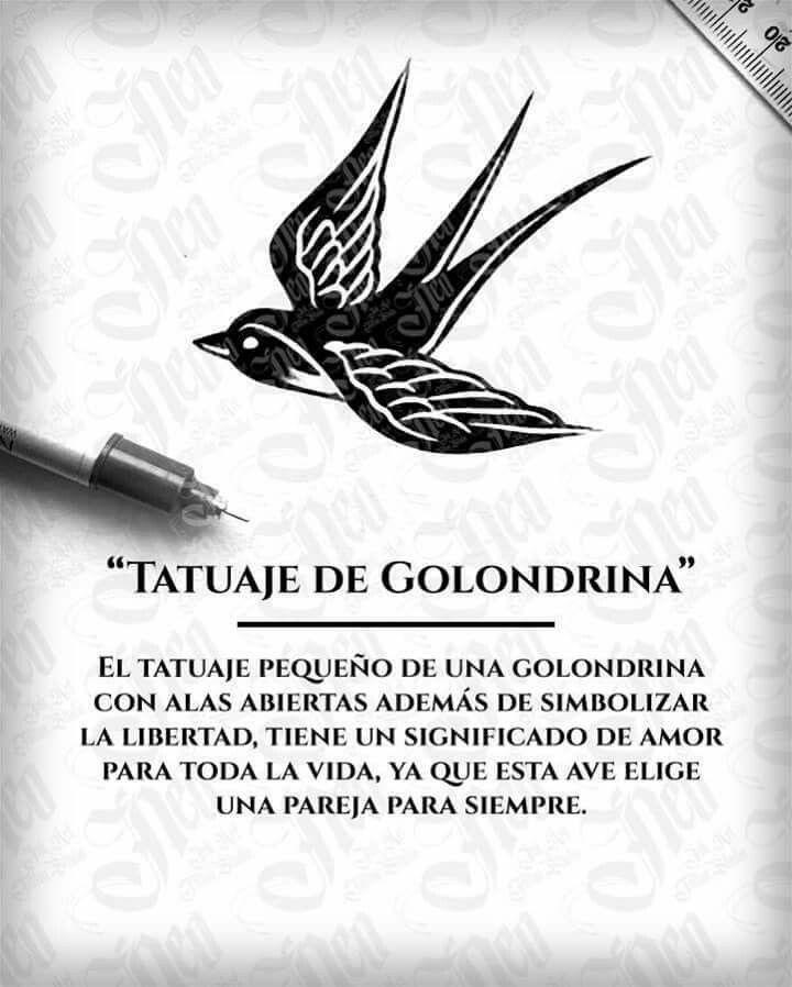 Significado Tatuaje De Golondrina Tatuajes Pinterest Tattoos