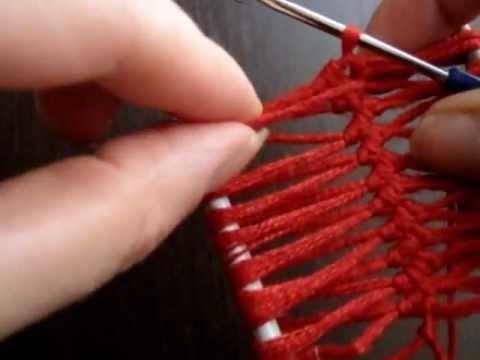 3:29 Вязание на вилке-дуге. Вязание крючком на вилке - YouTube
