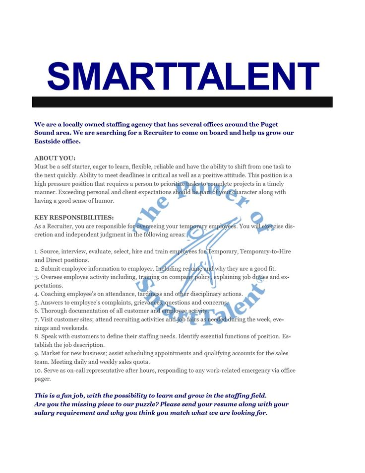 10 best Internal Job Opportunities for SmartTalent images on ...