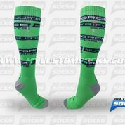 Socks designed by My Custom Socks for Betancourt Nutrition in Miami Lakes, FL. High knee socks made with Coolmax fabric. #Multisport custom socks - free quote! ////// Calcetas diseñadas por My Custom Socks para Betancourt Nutrition en Miami Lakes, FL. Calcetas de altura a la rodilla hechas con tela Coolmax. #Multideporte calcetas personalizadas - cotización gratis! www.mycustomsocks.com