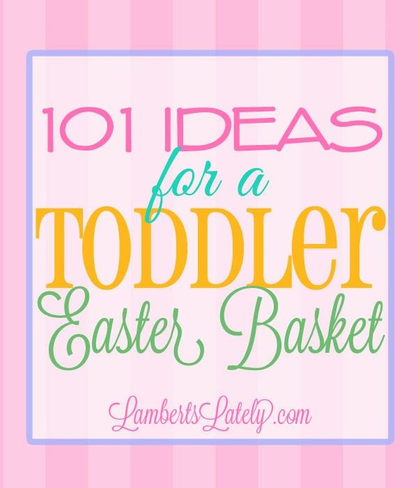 83 best gift baskets gift giving ideas images on pinterest 101 ideas for a toddler easter basket negle Choice Image