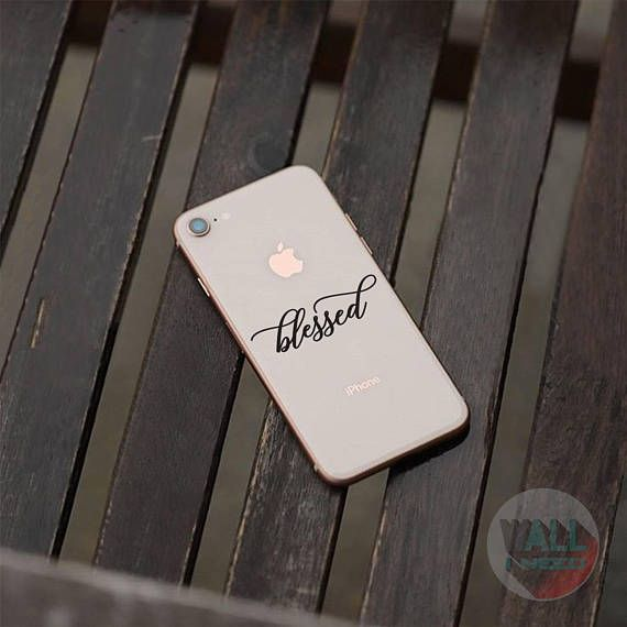 Check out this item in my Etsy shop https://www.etsy.com/listing/546155780/blessed-iphone-sticker-iphone-decal