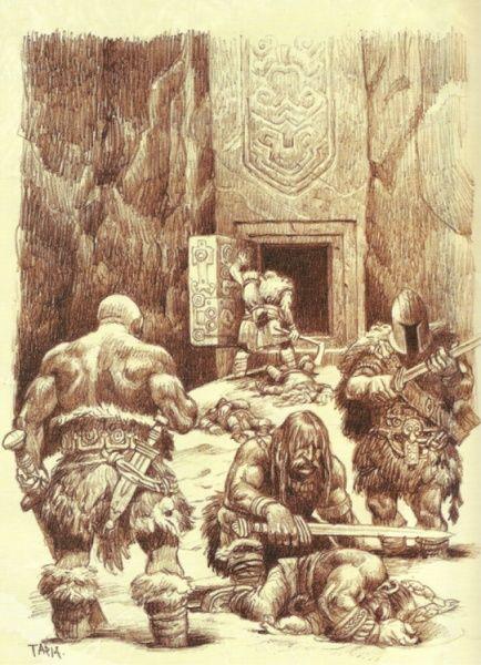 Adventuring dwarfs; jimmypalm.se / Roleplaying / Drakar & Demoner