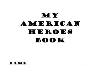 American Heroes Book - 3rd Grade Georgia Social Studies GPS....Great resource for keeping track of all those historical figures!