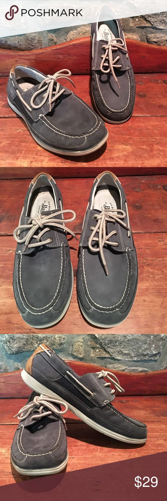 G.H. Bass & CO. Blue Men's Loafers G.H. Bass & CO. Blue Men's Loafers. These very nice Bass loafers are in great condition. Size 11. G.H. Bass & CO. Shoes Loafers & Slip-Ons