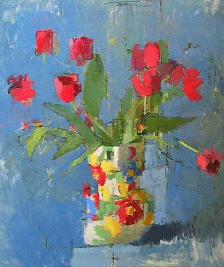 ❀ Blooming Brushwork ❀ - garden and still life flower paintings - jill barthorpe