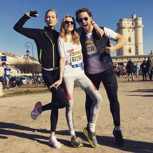 【ELLEgirl】カーリー・クロス、パリコレ中にハーフマラソンに挑戦!|エル・ガール・オンライン