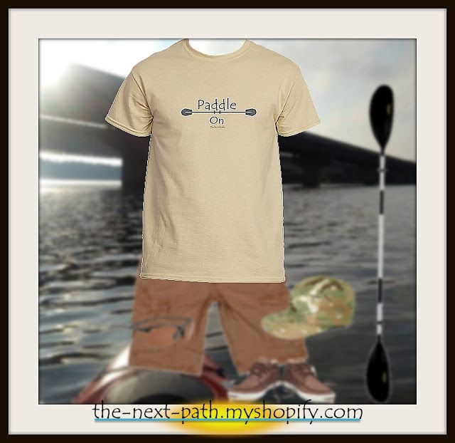 Living Intentional Joy: Paddle on the New Path  https://the-next-path.myshopify.com/collections/mens/products/paddle-on-mens-short-sleeve-tee