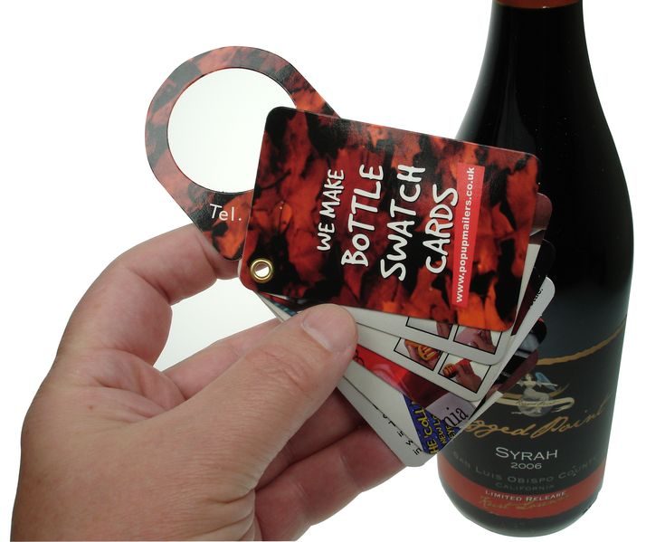 Fan Out Booklet  Drinks Marketing and Promotions, Bottle Tags, Wine Tags and Bottle ...