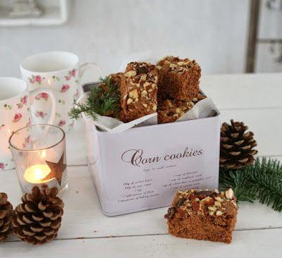 Rosen-lund´s blog: Julekalender d. 22 december - Julebrownies med bai...
