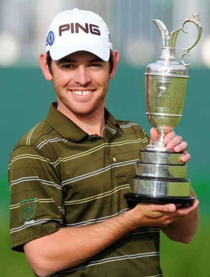 Louis Oosthuizen.  I was fortunate enough to play with Louis in The Invitational.  He has since visited us many times at Wild Wadi and we now support his charity.