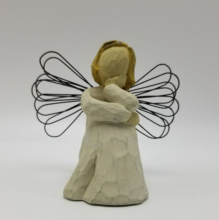Willow Tree Angel of Patience 2001 Sue Lordi DEMDACO Angel Figurine  #Demdaco