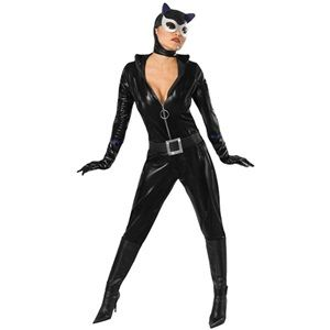 Sexy Adult Catwoman Costume - Adult Superhero Costumes