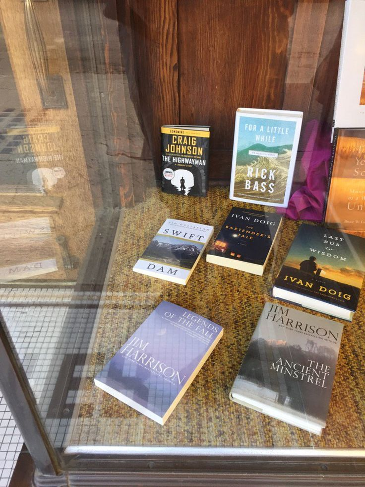 Swift Dam in fine company at Sax and Fryer Bookstore in #Livingston, #Montana.   Learn more about Swift Dam by Sid Gustafson at http://www.open-bks.com/library/moderns/swift-dam/about-book.html