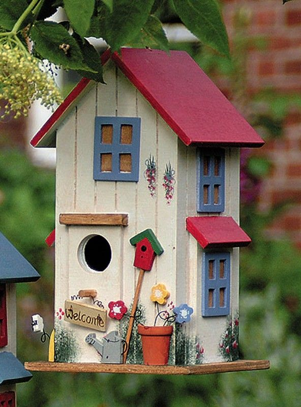 Cute birdhouse                                                                                                                                                     More