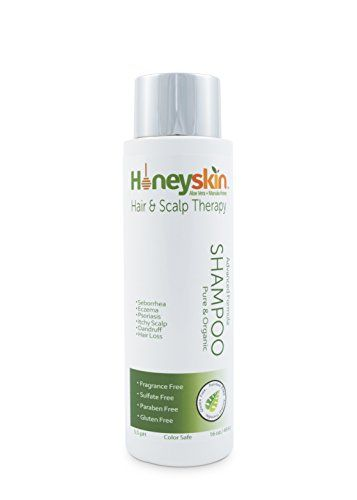 Honeyskin Organics Dry Scalp Treatment Shampoo for Hair and Scalp, 16 oz -- Learn more by visiting the image link.