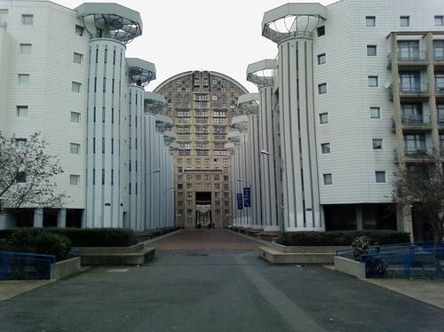 Metropolis utopiearchiv pav neuf noisy le grand for Architecture noisy le grand