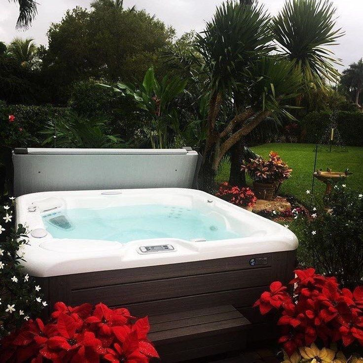 best 25  hot tubs landscaping ideas on pinterest