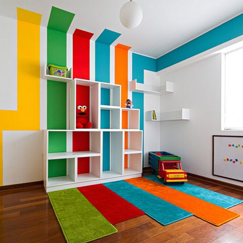 Kids Play Area School Daycare Design Ideas Pictures Remodel And Decor Colorful Playroom
