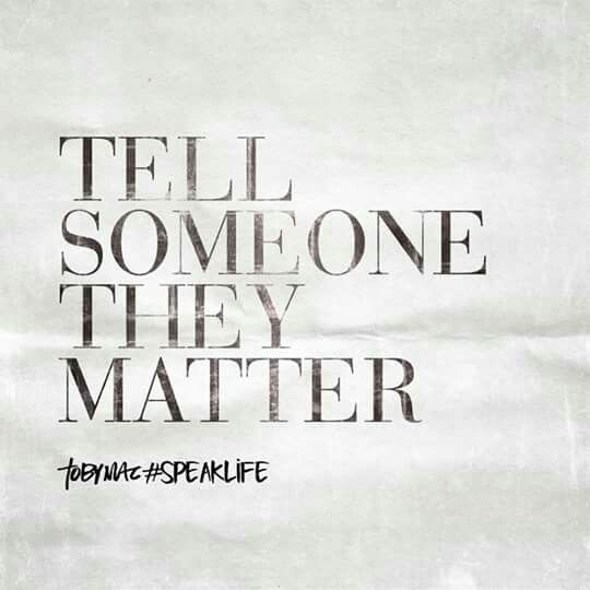 TobyMac speak life