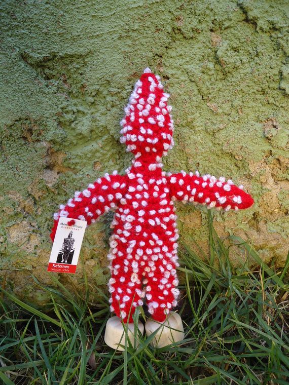 Keternen handcrocheted ... Persona Hain Selknam by FriendlyNations, $28.00