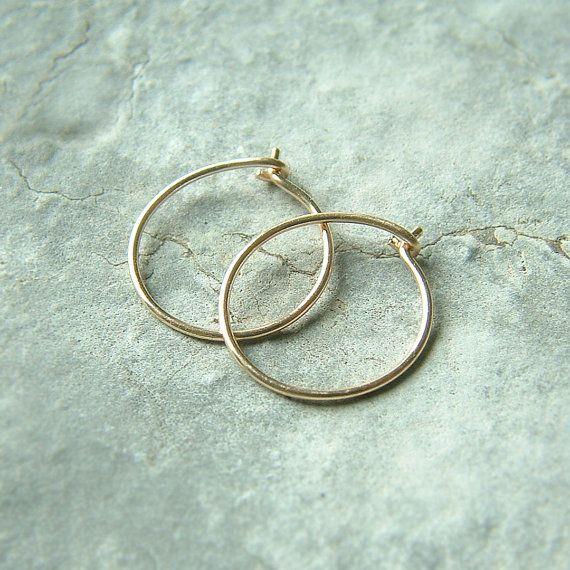 Mode 18K Gold Kette Kreis Creolen Ohrringe für Frauen Solide 925 Silber Schmuck