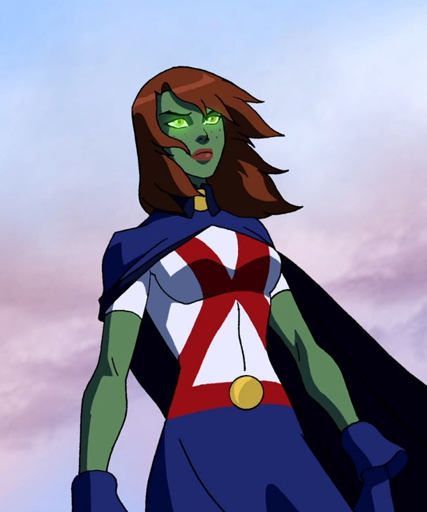 92 best Miss Martian images on Pinterest   Miss martian, Young ...