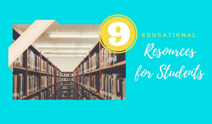 Below are nine educational resources for students. All the sites are very well built and cater to specific educational niches. Each site is well worth looking at, and I could recommend any of them as