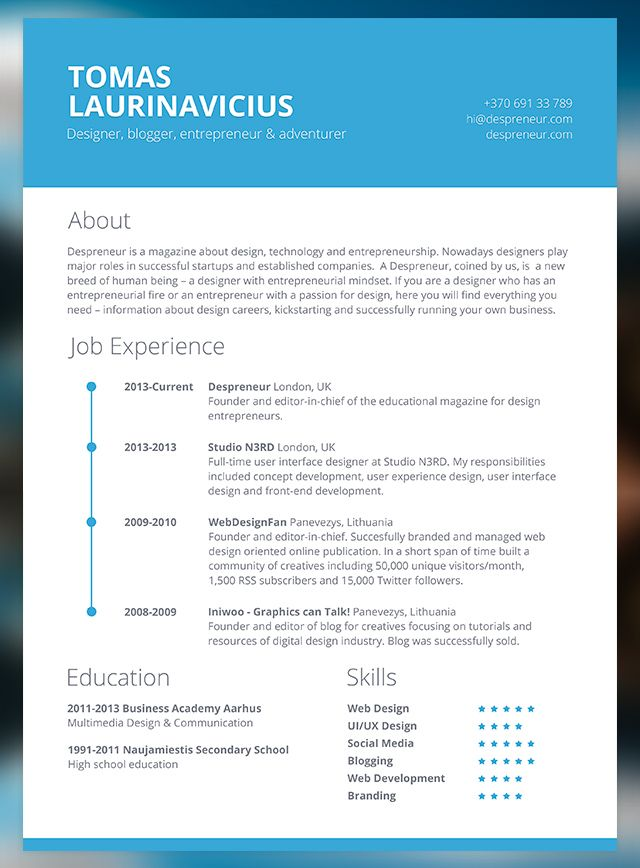Omo Alata  How To Write A Modern Resume