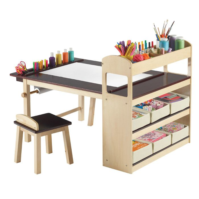 Viv + Rae Emilio Kids Rectangular Arts And Crafts Table