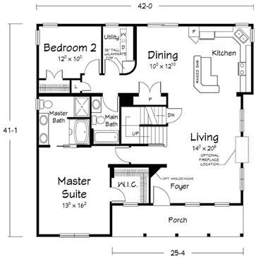 Floor plans southern dream home builders custom for Custom dream home floor plans