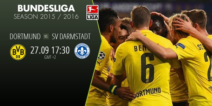 Dortmund vs SV Darmstadt collides in Bundesliga. Catch all the action live on betboro.com