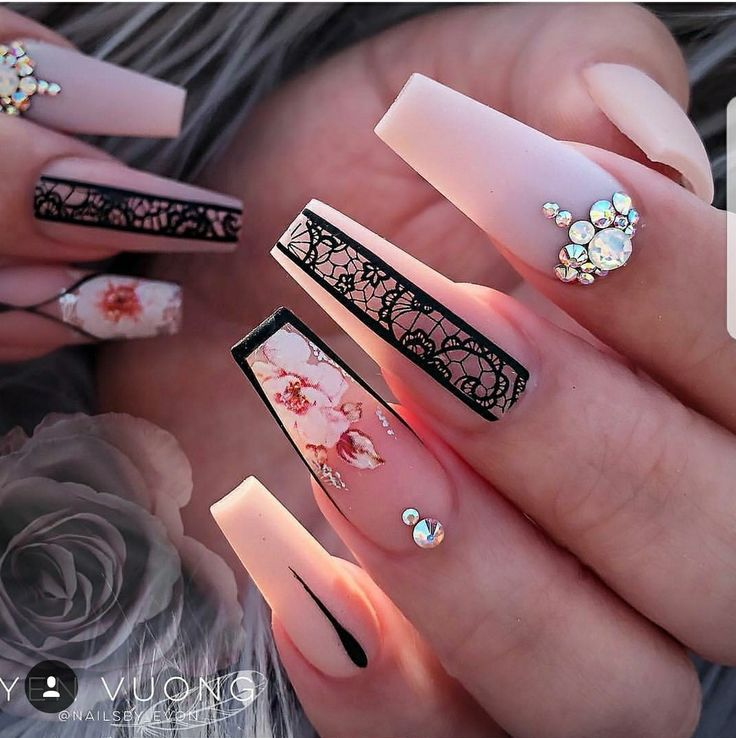 Love them all except the middle finger | Nails | Nail ...