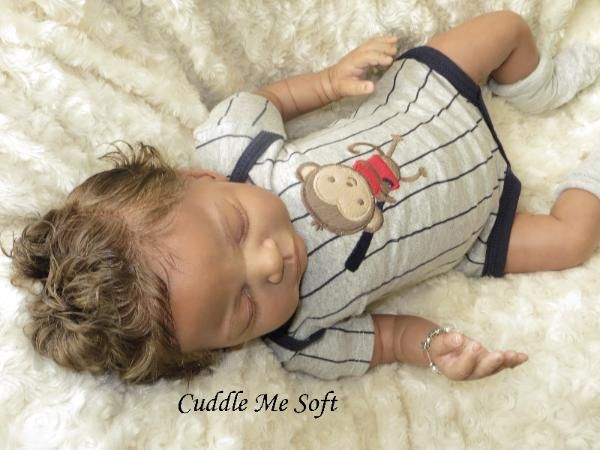 Adopted - Realistic Newborn Reborn Baby Boy For Sale, OOAK Baby Reborn doll