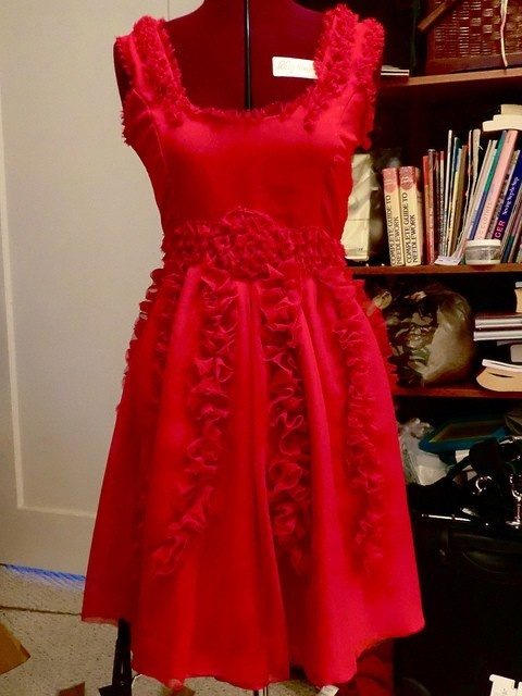 Hermione's Dress from Harry Potter my-style-pinboard: Red Dresses, Fully Dresses, Hermione Dresses, Things Harry, Things Style, Harry Potter, Bridal Shower, Potter My Style Pinboard, Hermione Red