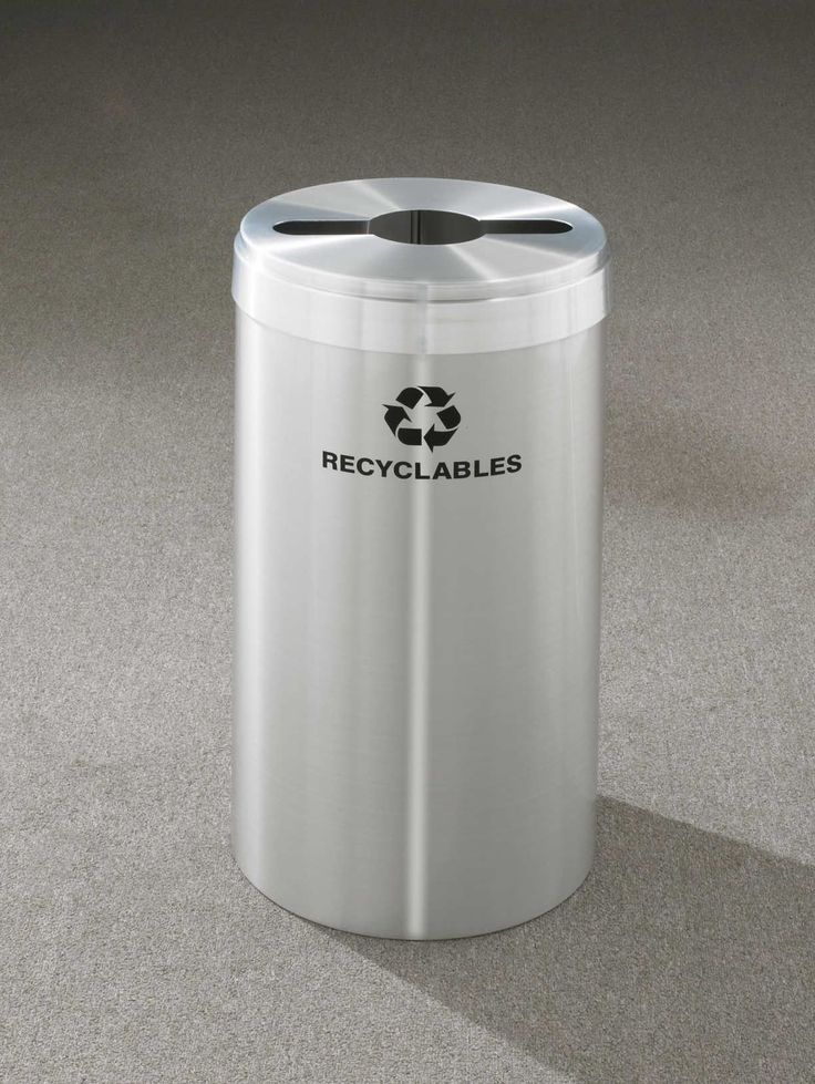 RecyclePro Value Series 15-Gal Single Stream Industrial Recycling Bin