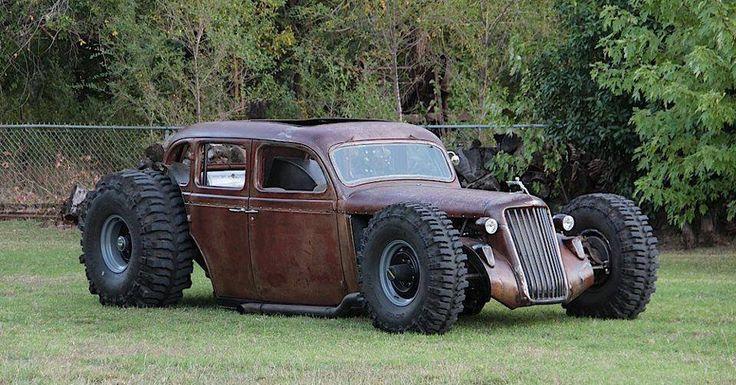 Rat Rod mud bogger?? The tires speak volumes.